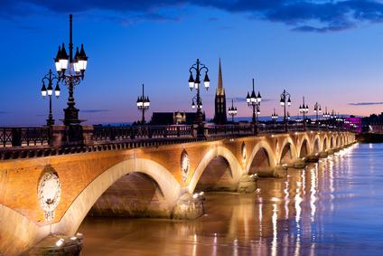 Bordeaux - le pont de pierre
